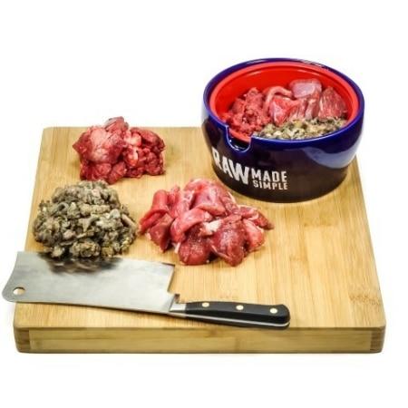 Bowl of Chunky Boneless Lamb