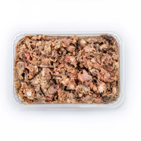 Chicken and Beef Tripe Raw Dog Food Meal