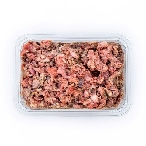 Turkey and Lamb Mince Raw Dog Food Meal