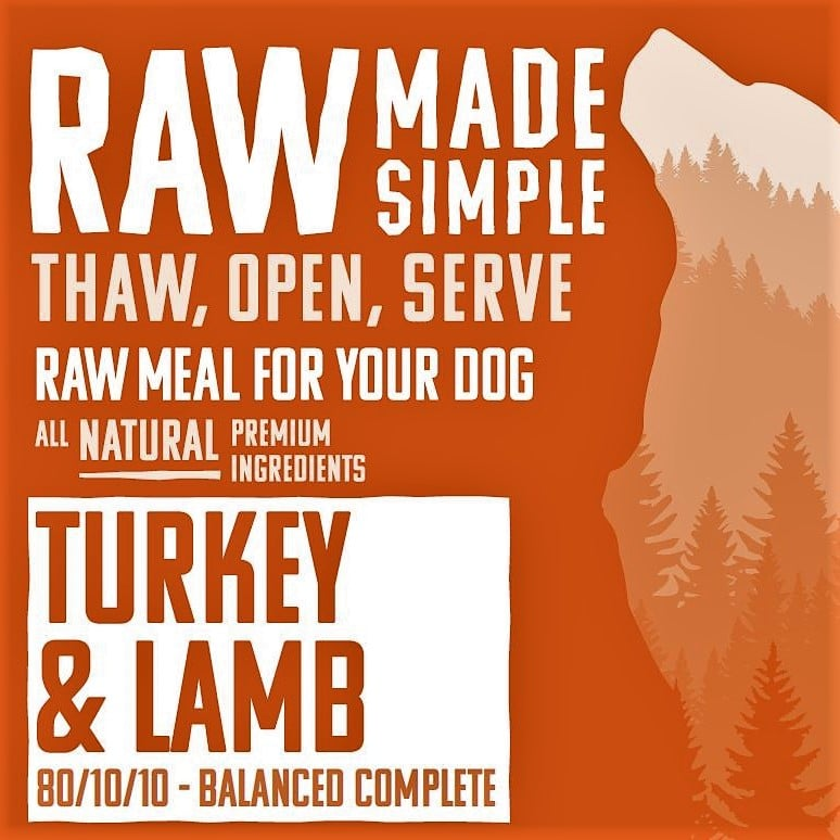 Turkey and Lamb Mince Complete | Raw Dog Food | Raw Made ...