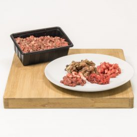 Lamb Tripe and Beef Mince Raw Dog Food Meal Pet Food