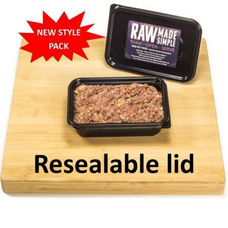 Raw Dog Food 500g container