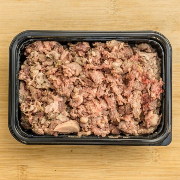 Boneless Beef Mince and Lamb Tripe 500g Frozen Raw Dog Food Delivered