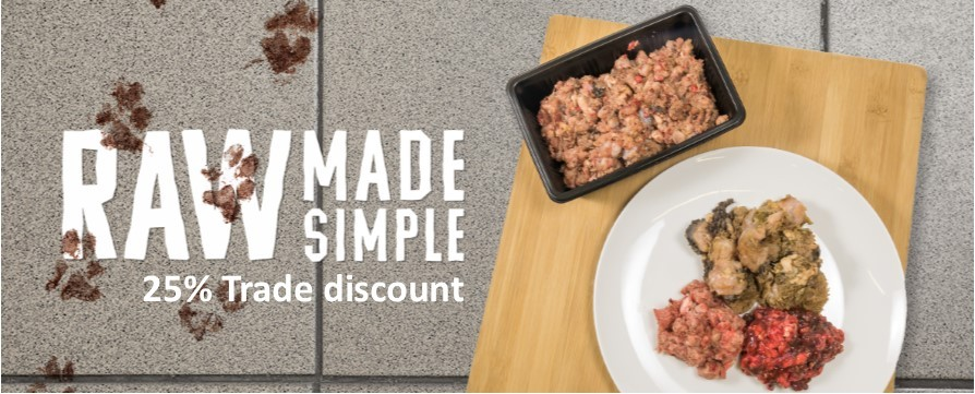 Trade Discount Offer Raw Made Simple Dog Food