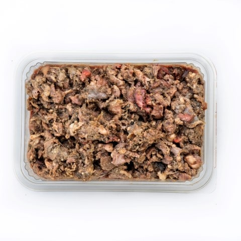 Lamb and Beef Tripe raw dog food