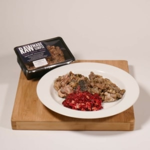 Lamb & Beef Tripe 500g raw dog food meal from Raw Made Simple