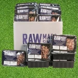 Raw Dog Food Hamper Ready Meals