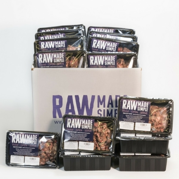 Raw Dog Food Selection Hamper 100% meat