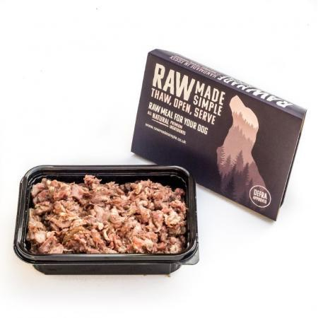Boneless Lamb Mince and Lamb Tripe Mix 500g Frozen Raw Dog Food Delivered