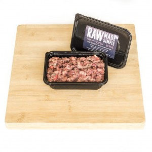 Raw Dog Food 500g Boneless Lamb Mine Tripe Mix From Raw Made Simple