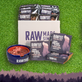 Raw Dog Food Hamper Starter Pack