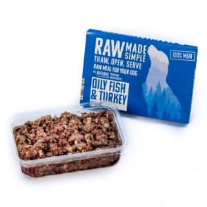 Oily Fish Raw Dog Food, Raw Made Simple