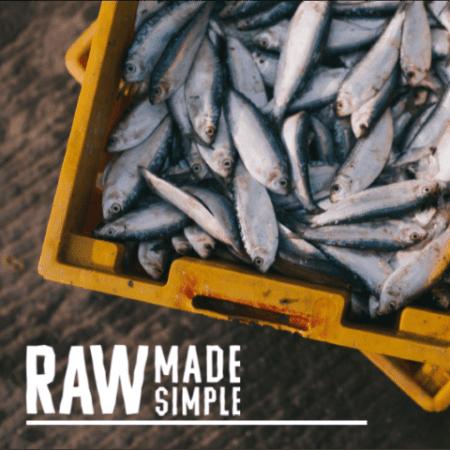 Fish Raw Dog Food Meal