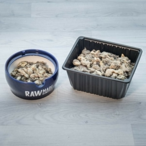 lamb tripe 2kg raw dog food meal from Raw Made Simple