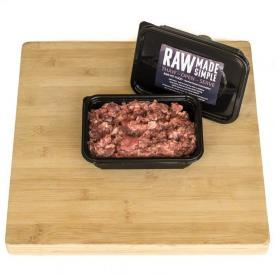 Raw dog food 500g