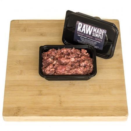 Raw dog food 500g