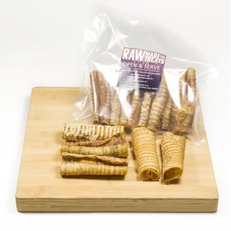 Dried Buffalo Throat Raw Dog Food Treats