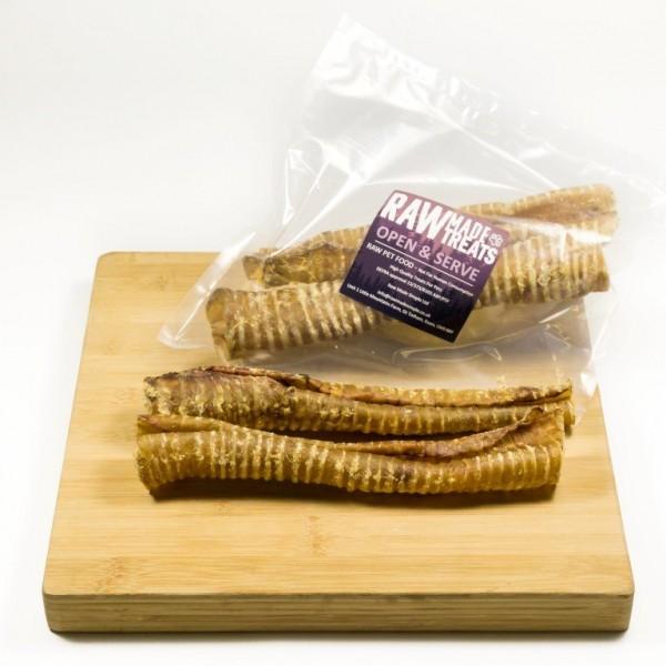Large Buffalo Throat Dog Food Chews and Treats Raw Dog Food Raw Made Simple