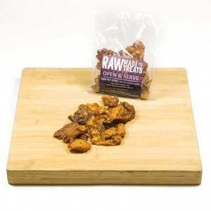 Dried Chicken Jerky 150g Dog Food Chew and Treat Raw Dog Food Raw Made Simple