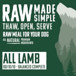 4330 All Lamb Raw Dog Food