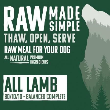 4330 All Lamb Raw Dog Food
