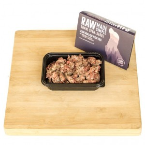 Whole Beef Complete Frozen Raw Dog Food
