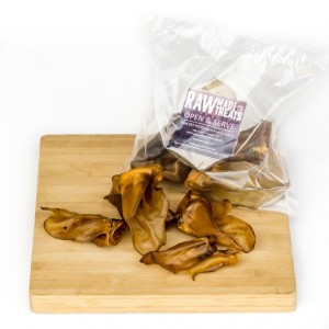 Lambs Ears Dried Dog Treat Raw Dog Food Raw Made Simple