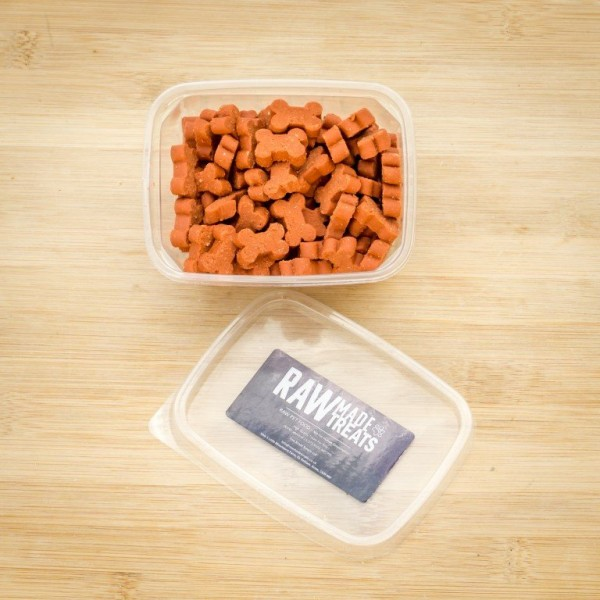 Beef Reward Treats, Raw made simple dog food