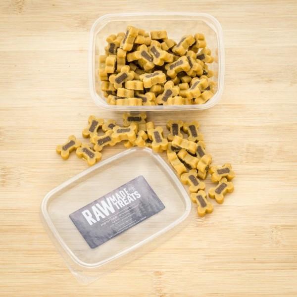 Ham and Cheese Reward Treats Raw Made Simple Dog Food