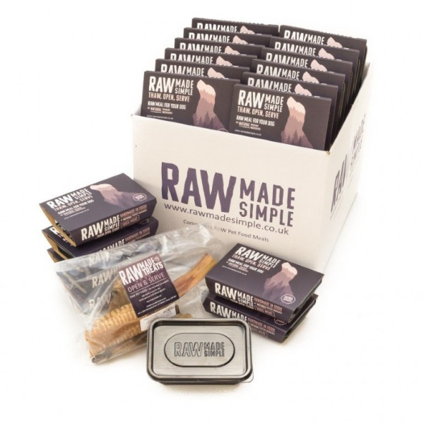 Selection Hampers Raw Frozen Dog Food Meals raw made simple frozen dog food meat