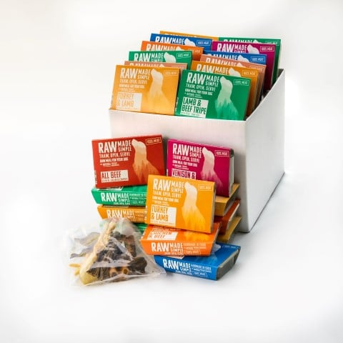 Platinum Hamper Selection of 3 raw dog food meals