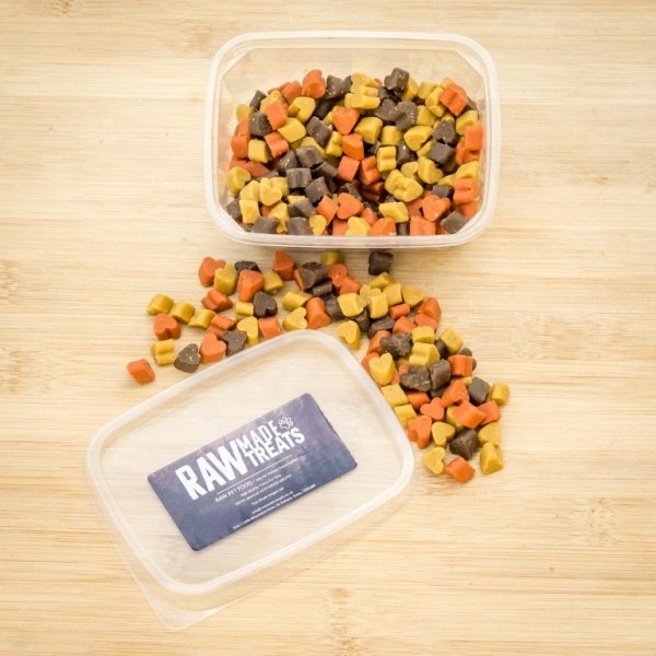 Puppy Training Treats, raw made simple dog food