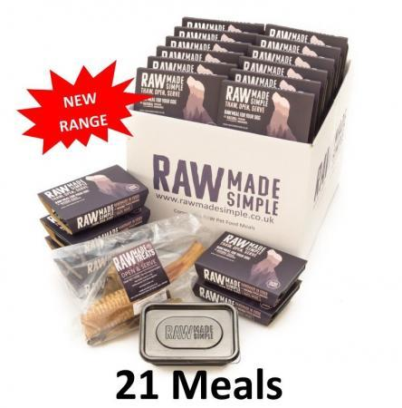 Three week Hamper 21 Meals raw made simple frozen dog food meat