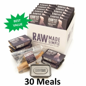 Value Selection Hamper, Raw Made Simple Frozen Dog Food
