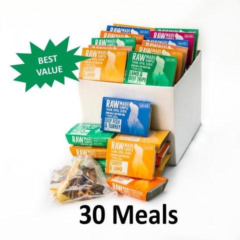 Value Hamper Selection of 3 raw dog food meals