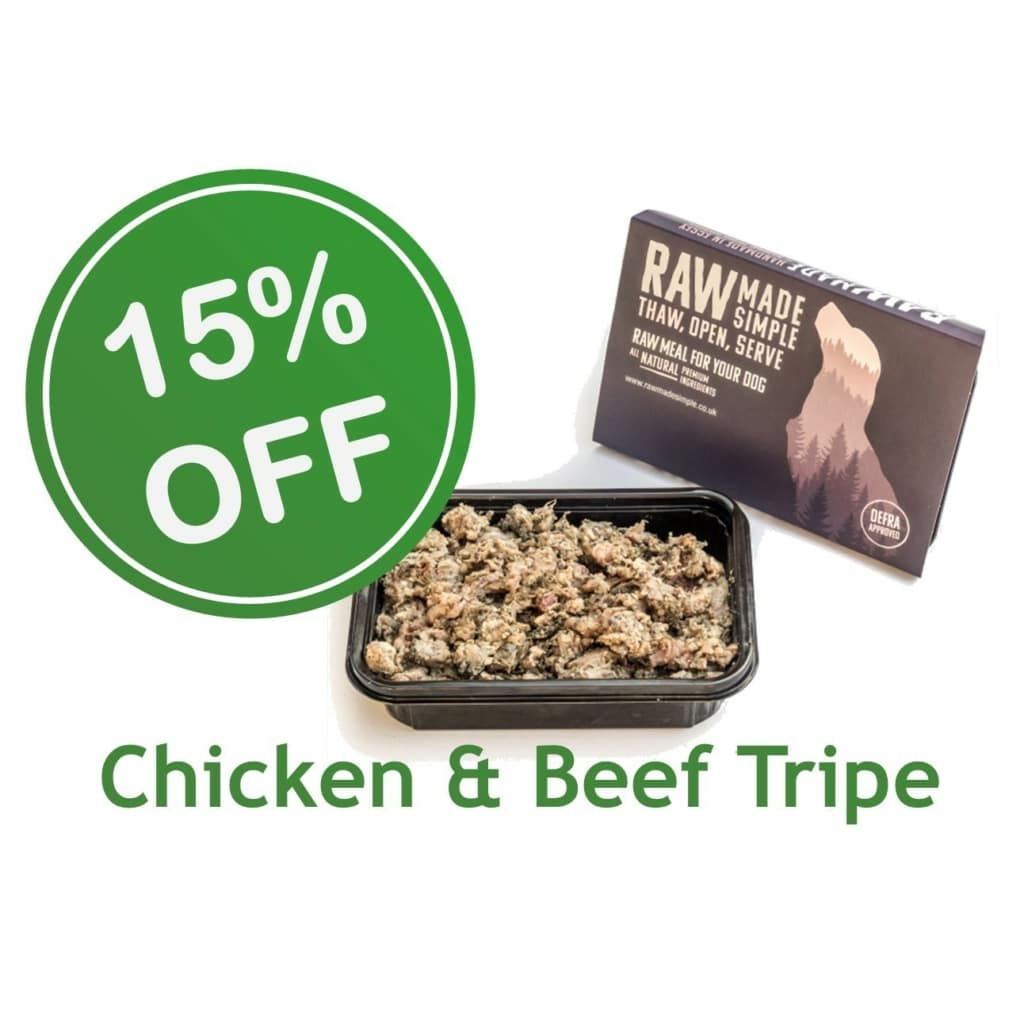 discounted chicken and beef raw dog food raw made simple