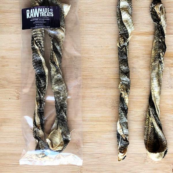 Fish Twirls 2 pack, Raw dog food treats