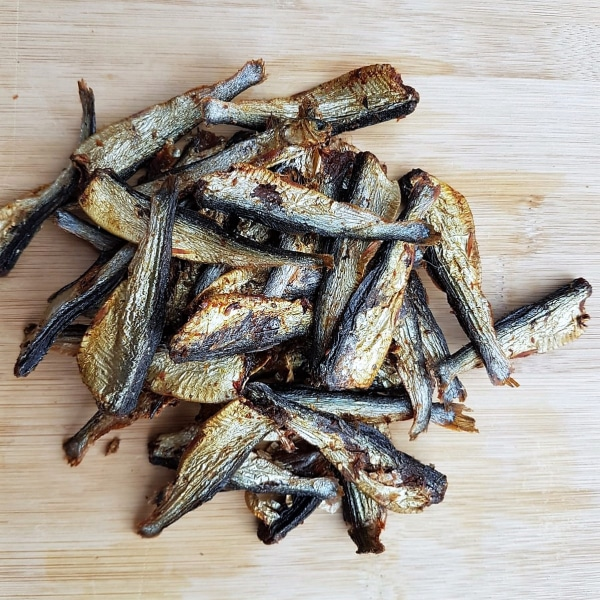 Dried Sprats 80g pack, Raw Dog Food