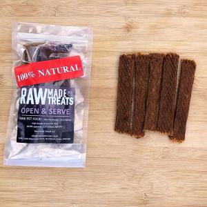 Dried turkey Strips 5 Pack, raw dog food