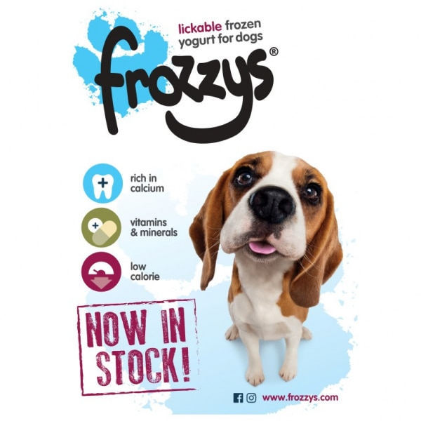 Frossys Frozen Yogurt For Dogs poster