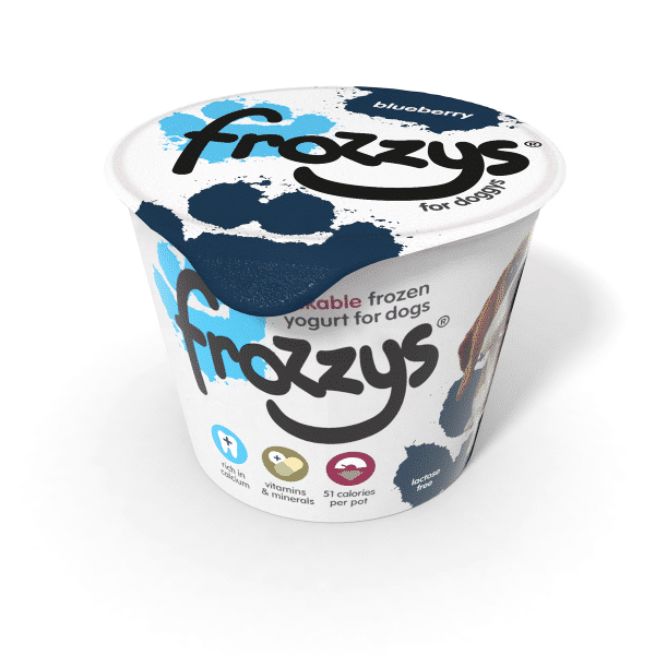 Frossys Frozen Yogurt For Dogs Blueberry