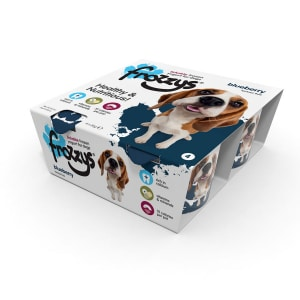 Frossys Frozen Yogurt For Dogs Blueberry 4 Pack