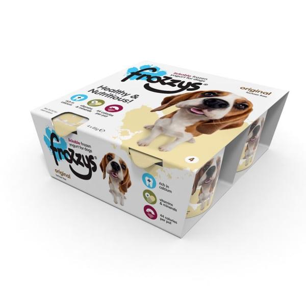 Frossys Frozen Yogurt For Dogs Original 4 Pack