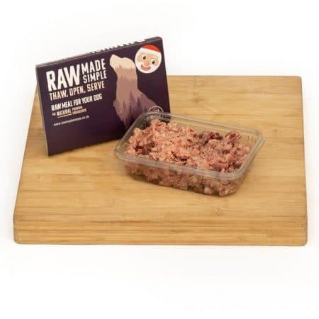 Santa Supreme Goose and Turkey Raw Dog Food