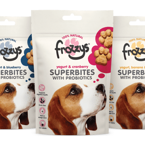 Frozzys Superbites 3 flavours from Raw Made Simple Raw Dog Food